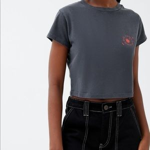 UO cropped shirt